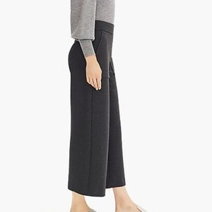 NWT J Crew wide-leg crop pant in 365 Crepe